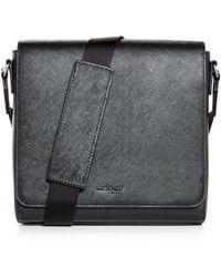 Michael Kors - Harrison Crossgrain Leather Messenger Bag - Lyst