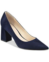 Marc Fisher Zala Pointed Toe Court Shoes - Blue