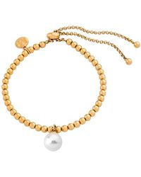 Majorica - Majorca Simulated Round Pearl Bracelet - Lyst
