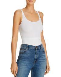 Tc Fine Intimates Tc Fines Intimates No - Side Show Bodysuit - White