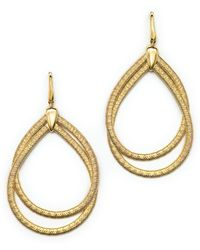 Marco Bicego - 18k Yellow Gold Cairo Drop Earrings - Lyst