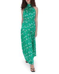 Sabina Musayev Nolita Floral Maxi Dress - Green