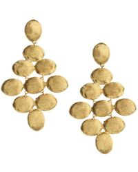 Marco Bicego - Siviglia 18k Gold Hand Engraved Earrings - Lyst