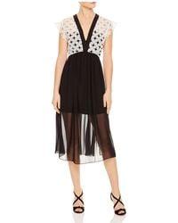 Sandro | Cinderella Floral-lace Dress | Lyst