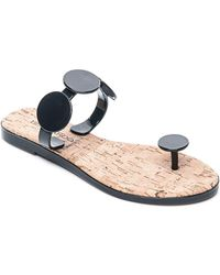 Bernardo - Women's Jelly Disk & Cork Sandals - Lyst