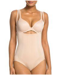 Spanx - Oncore Open-bust Bodysuit - Lyst