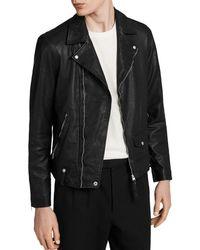 AllSaints - Jace Biker Jacket - Lyst