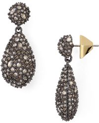 Alexis Bittar - Pavé Pod Drop Earrings - Lyst