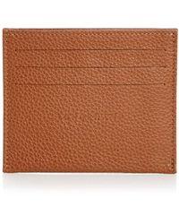 Longchamp Le Foulonne Leather Card Case - Multicolor