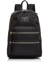 Marc Jacobs Biker Medium Nylon Backpack - Black