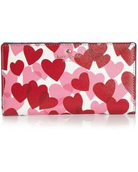 Kate Spade - Yours Truly Stacy Wallet - Lyst