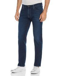 AG Jeans Tellis Slim Fit Jeans In Burroughs - Blue