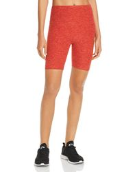 37a7b48f5e Beyond Yoga - Crossroads High - Rise Bike Shorts - Lyst