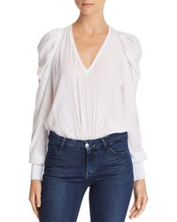 Ramy Brook - Alexis Puff-sleeve Top - Lyst