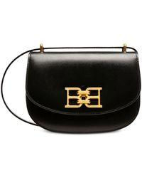Bally Baily Mini Leather Crossbody - Black