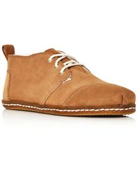 3dadebb3f08 Lyst - TOMS Toffee Suede Women s Bota Boots in Brown