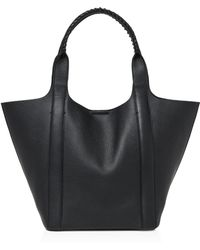 Botkier Nomad Leather Tote - Black