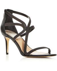 Imagine Vince Camuto Women's Petara Mid - Heel Sandals - Black