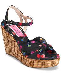 Kate Spade Kate Spade Women's Anita Strappy Wedge Sandals - Multicolour