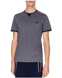 The Kooples - Jersey And Stripes Tee - Lyst