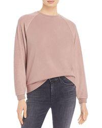 Marc New York Performance Fleece Sweatshirt - Pink