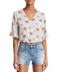 Sage the Label - Place In Sun Floral Blouse - Lyst