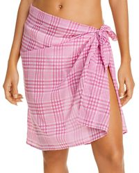 Faithfull The Brand Mini Pareo Swim Cover - Up - Pink