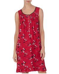Eileen West - Sleeveless Short Nightgown - Lyst