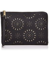 Ivanka Trump - Rio Tech Perforated Leather Tablet Case - Lyst