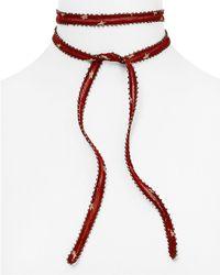 Chan Luu - Star Printed Necktie - Lyst