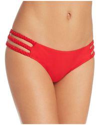 6 Shore Road By Pooja - Braided Detail Triangle Bikini Top - Lyst
