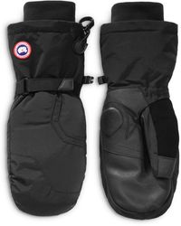 Canada Goose Down Mittens - Black