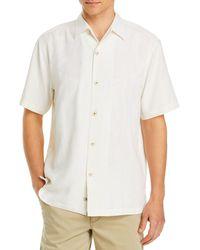 Tommy Bahama Tahitian Silk Regular Fit Short - Sleeve Shirt - White