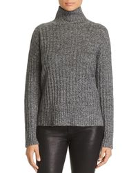 C By Bloomingdale's - Donegal Cashmere Rib-knit Turtleneck Sweater - Lyst