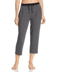 Donna Karan Sleepwear Basics Capri Trousers - Grey
