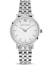 Larsson & Jennings - Lugano 26mm Stainless Steel Watch - Lyst