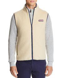 Vineyard Vines - Heritage Sherpa Vest (camel) Men's Vest - Lyst