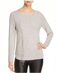 NIC+ZOE - The Braided Up Jumper - Lyst