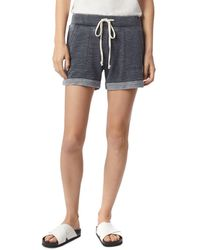 Alternative Apparel French Terry Drawstring Shorts - Black