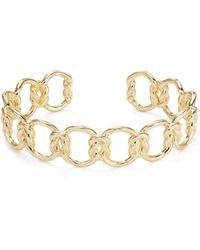 Kendra Scott Fallyn Chain Link Cuff Bracelet - Metallic
