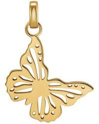 Michael Kors Gold-tone Butterfly Charm - Metallic
