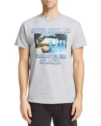 Junk Food Super Bowl Graphic Tee - Gray