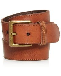 Frye - Men's Bowery Leather Belt - Lyst