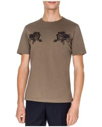 The Kooples - Embroidered Dragon Tee - Lyst