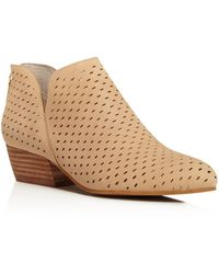 Kenneth Cole - Cooper Perforated Booties - Lyst