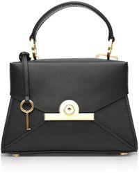 Zac Zac Posen Amelia Mini Leather Satchel - Black