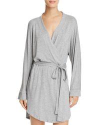 Honeydew Intimates Short Robe - Grey
