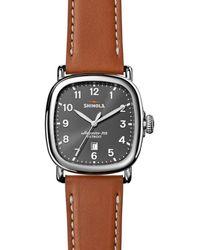 Shinola Guardian 3hd Watch - Gray