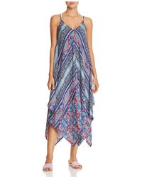 Tommy Bahama - Riviera Scarf Dress Swim Cover-up - Lyst