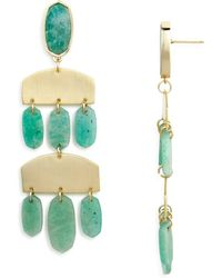Kendra Scott - Emmet Chandelier Earrings - Lyst